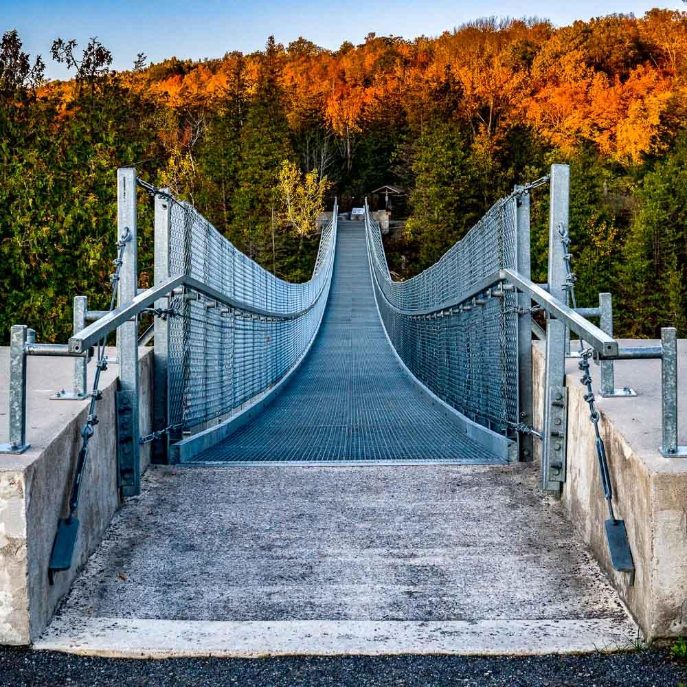 West Entrance to the Suspension Bridge