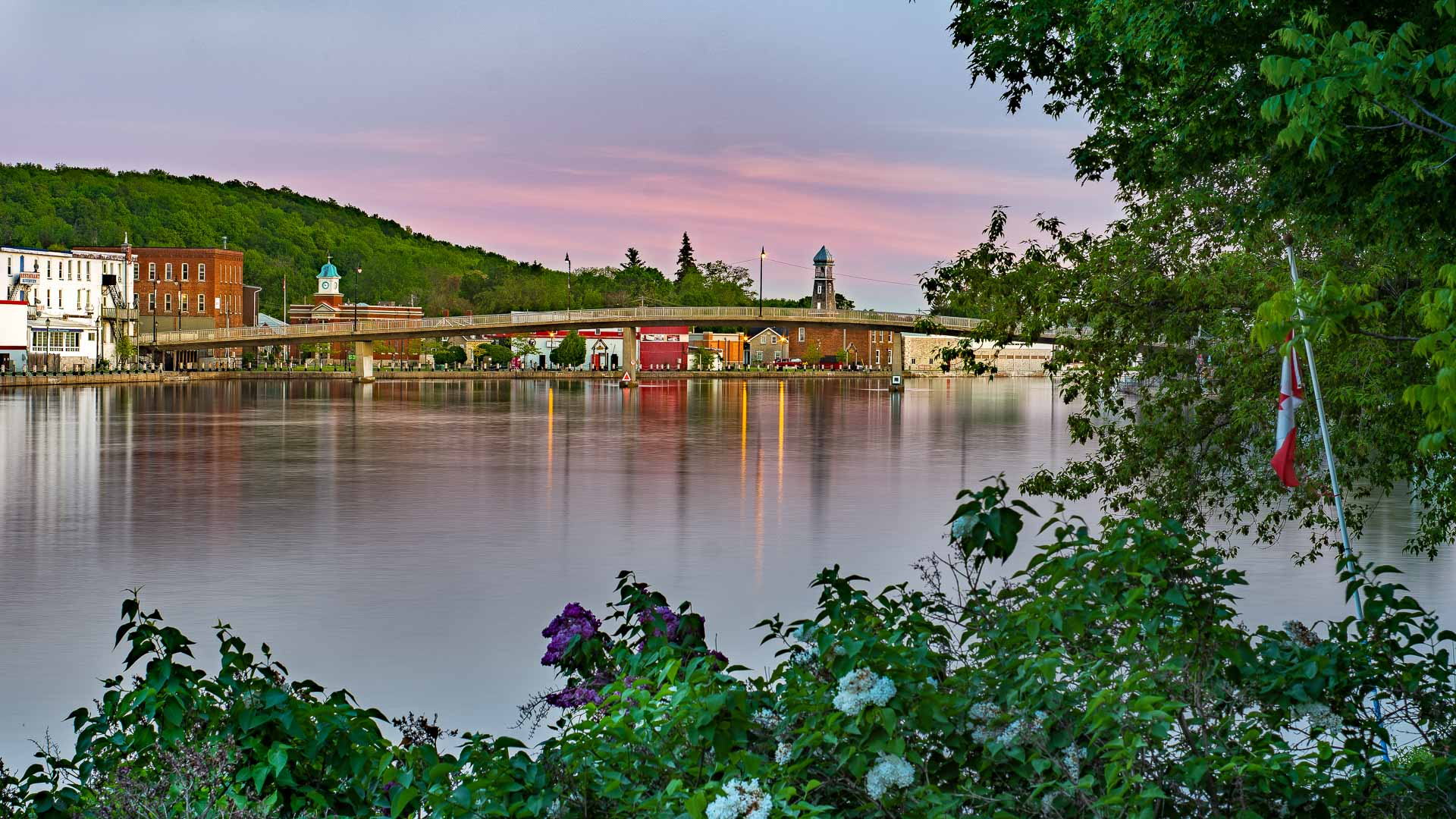 Campbellford at Twilight